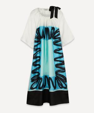 Jest Scribble Foulard Dress