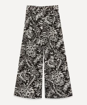 Coxsone Ornamental Wide-Leg Trousers