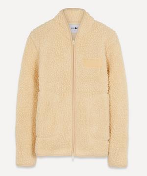 Mort 3443 Wool-Blend Sherpa Fleece Jacket