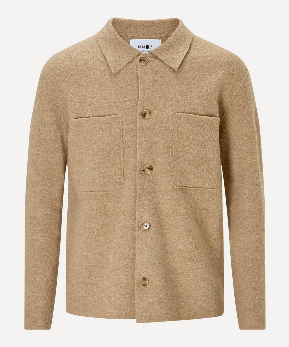 NN07 - Jonah 6383 Boiled Wool Overshirt