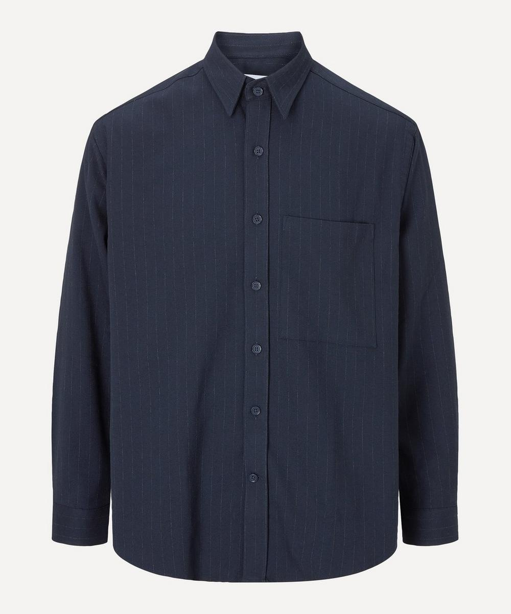 NN07 - Arthur 1823 Pinstripe Shirt