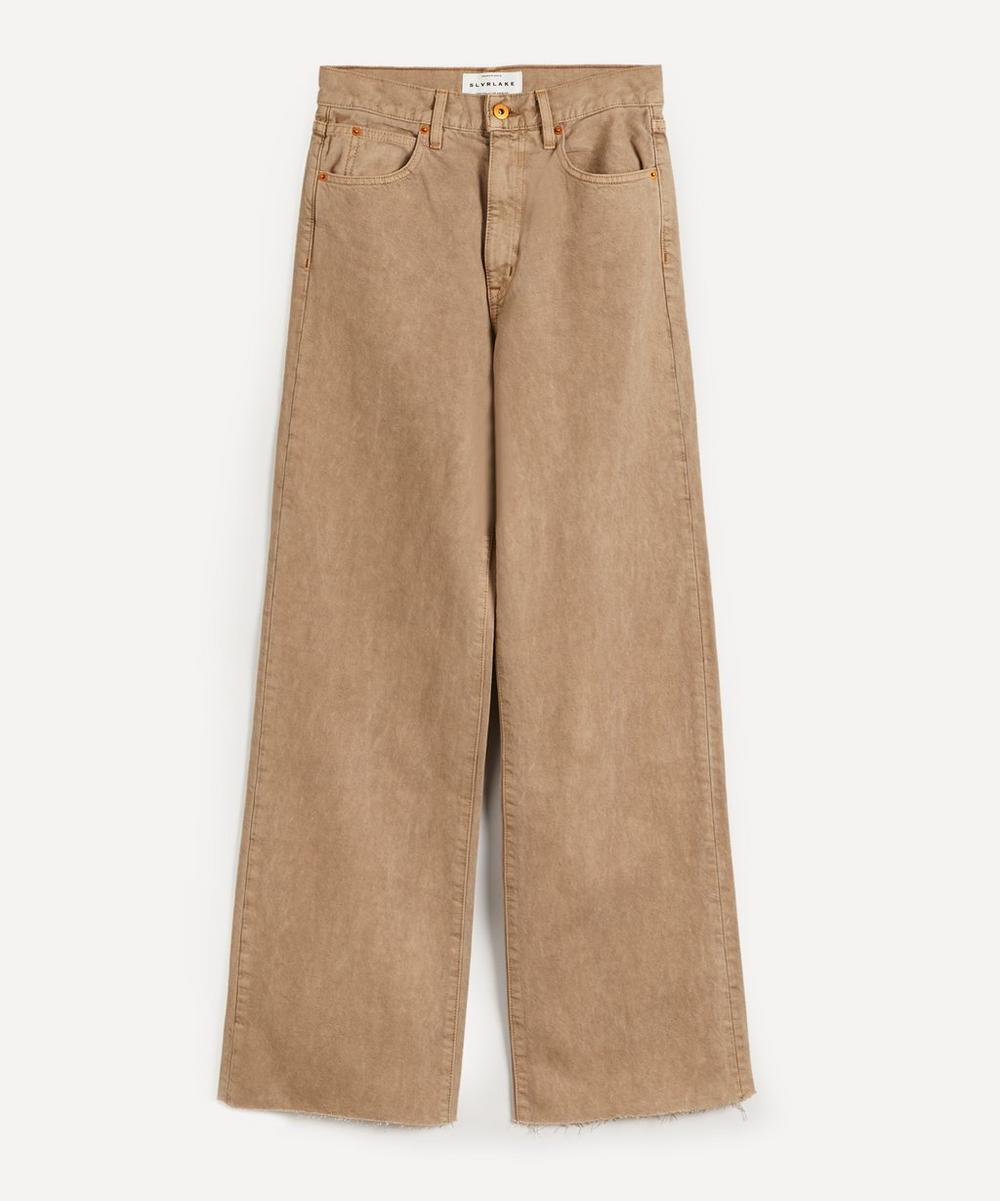 SLVRLAKE - Grace High-Rise Wide-Leg Jeans