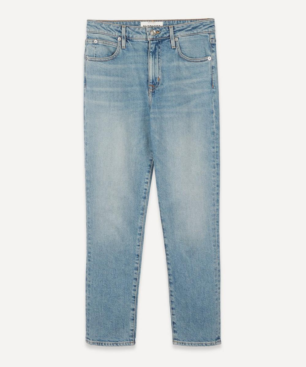 SLVRLAKE - Lou Lou Mid-Rise Slim-Leg Jeans