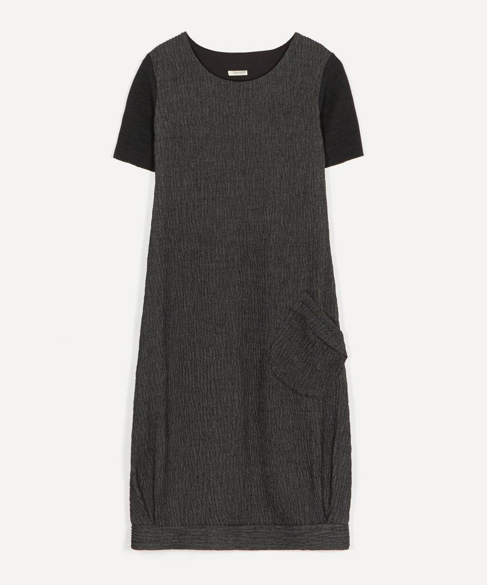 Crea Concept - Robe Tisse Layered Knit Dress