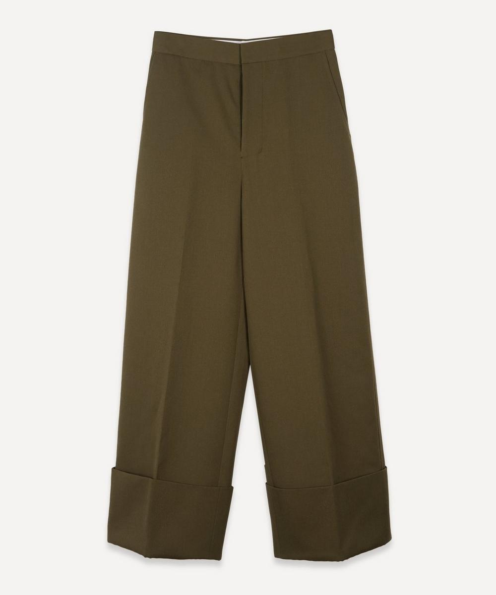 Enföld - Wide-Leg High Waisted Trousers