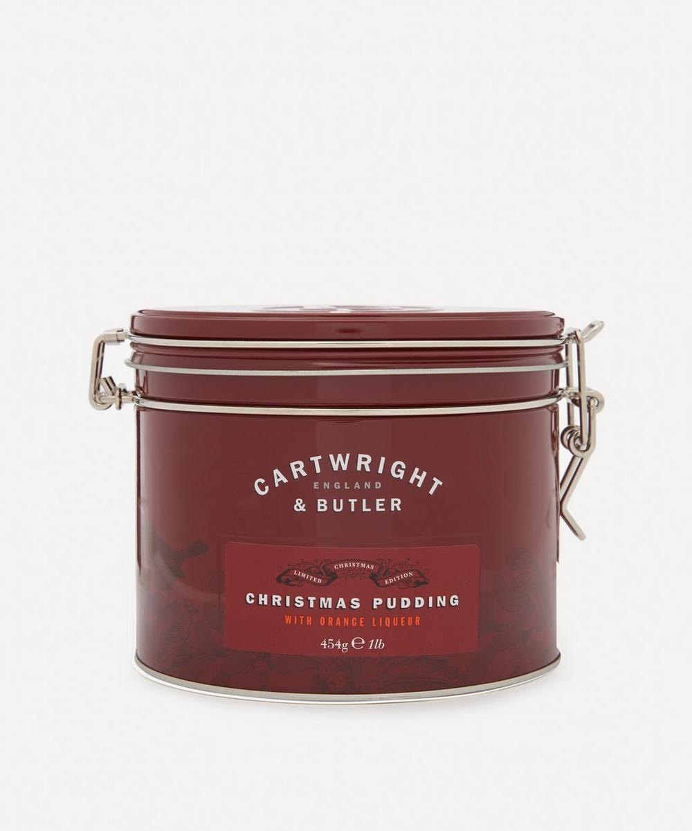 Cartwright & Butler - Christmas Pudding with Orange Liquor 454g