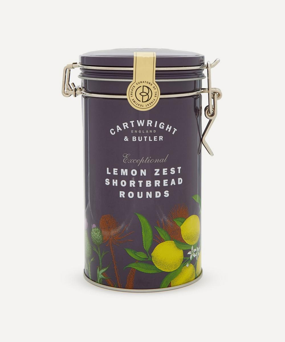Cartwright & Butler - Lemon Zest Shortbread Rounds 200g