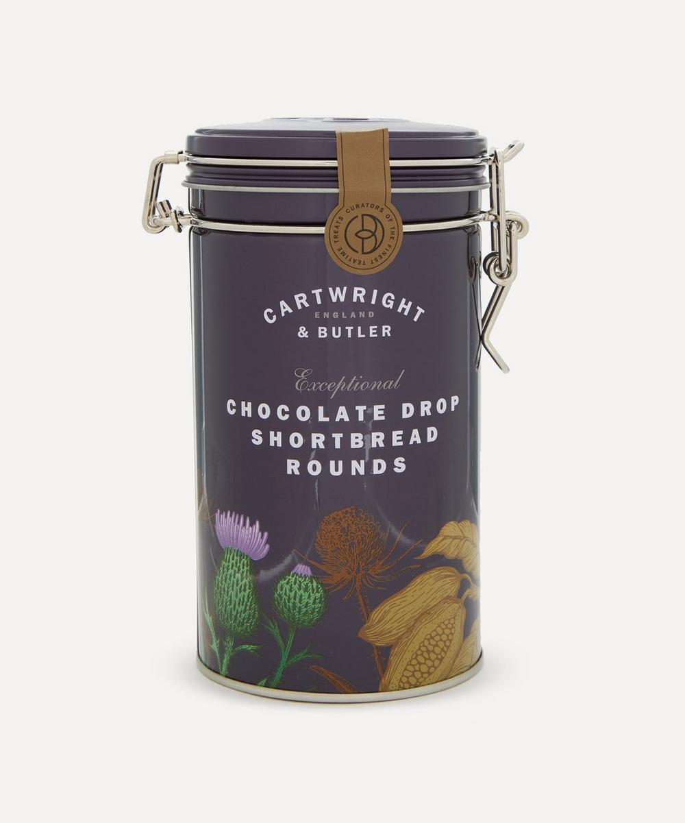 Cartwright & Butler - Chocolate Drop Shortbread Rounds 200g