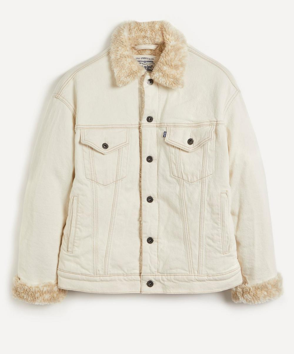 Levi's Made & Crafted - Oversized Fleece-Lined Trucker Jacket