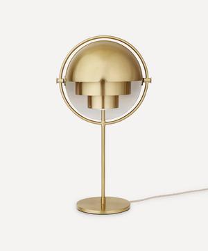 Multi-Lite Brass Table Lamp