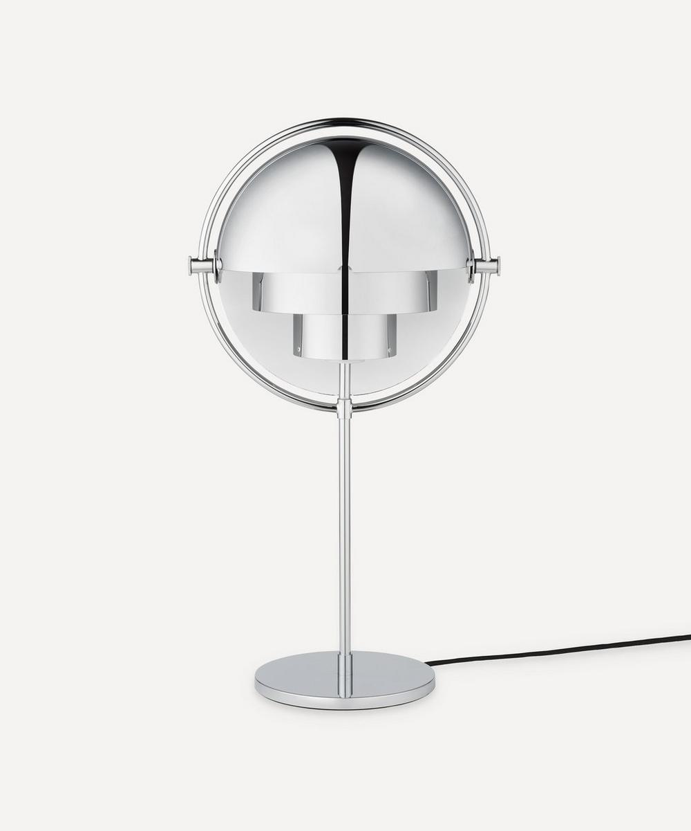 Gubi - Multi-Lite Silver Table Lamp