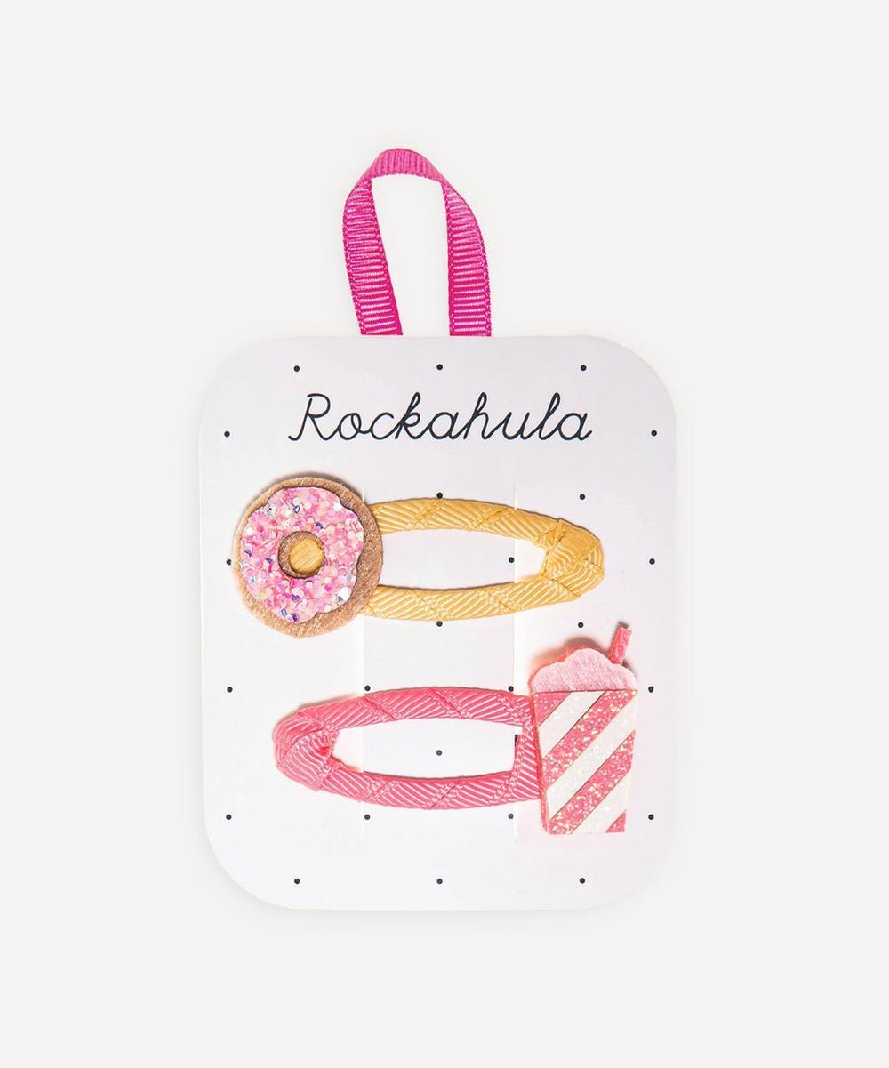 Rockahula - Doughnut and Milkshake Glitter Hair Clips