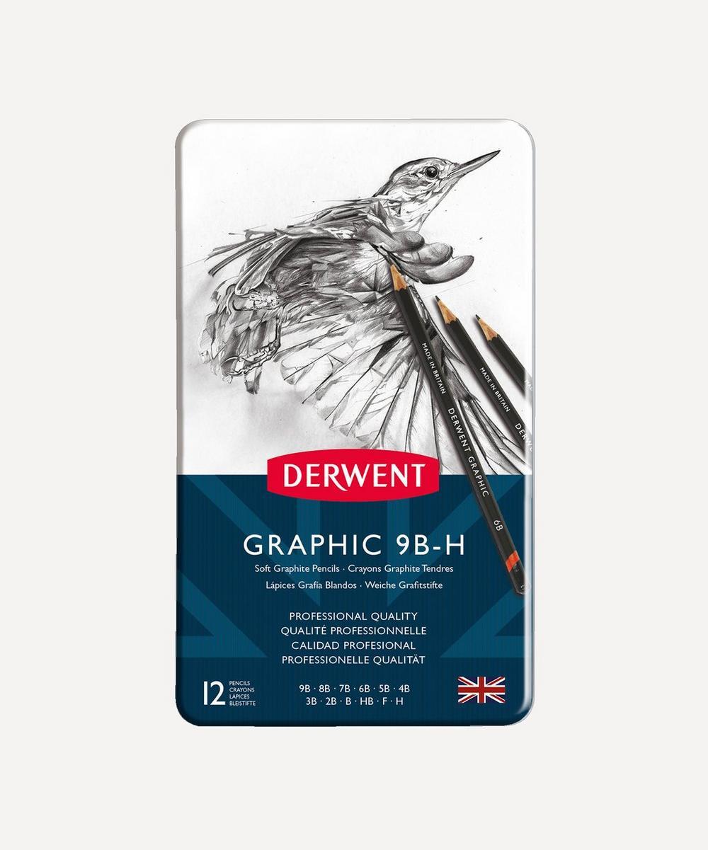 Derwent - Graphic Soft Pencils Set of 12
