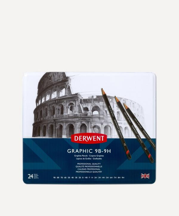 Derwent - Graphic Hard Pencils Set of 24