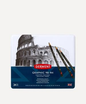 Graphic Hard Pencils Set of 24