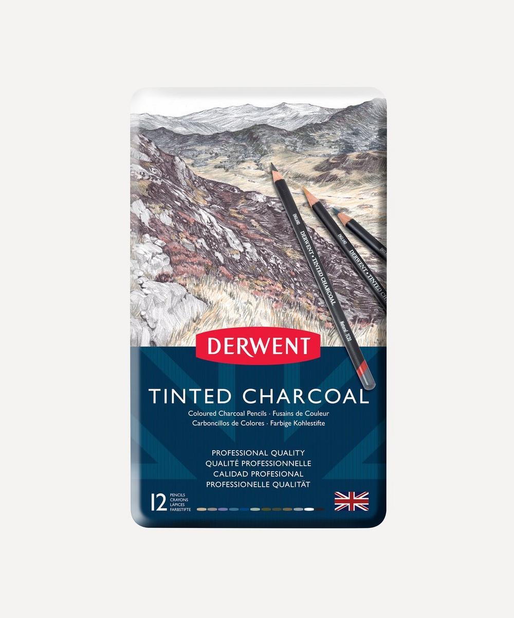 Derwent - Tinted Charcoal Pencils Set of 12