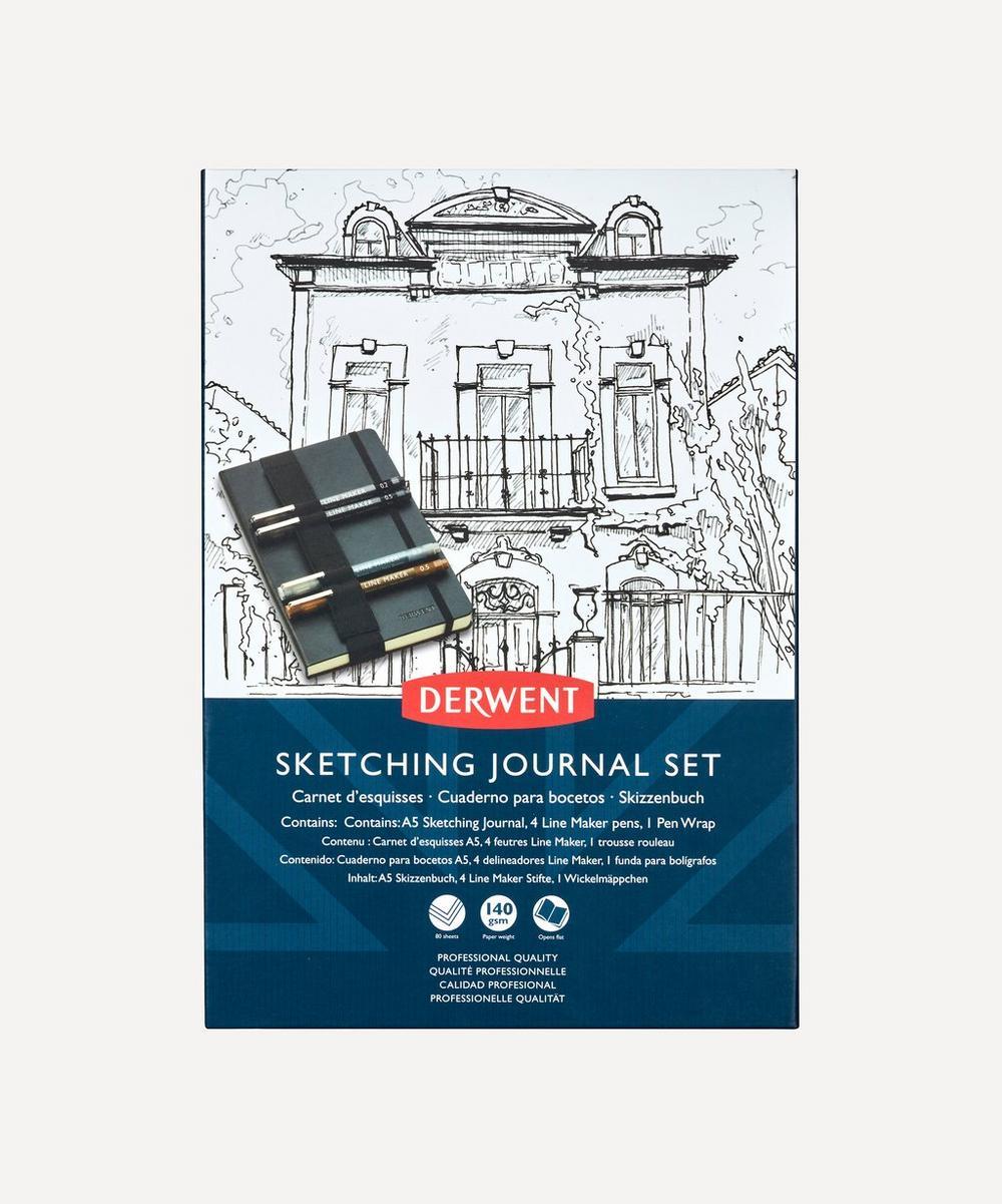 Derwent - A5 Sketching Journal Set