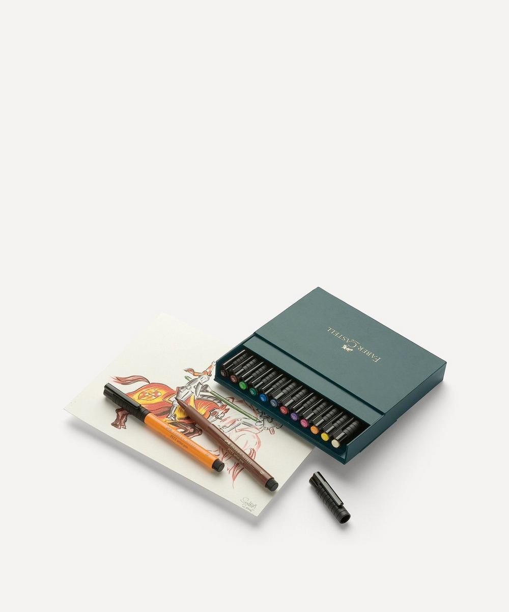 Faber-Castell - Pitt Artist Pen Brushes Set of 12