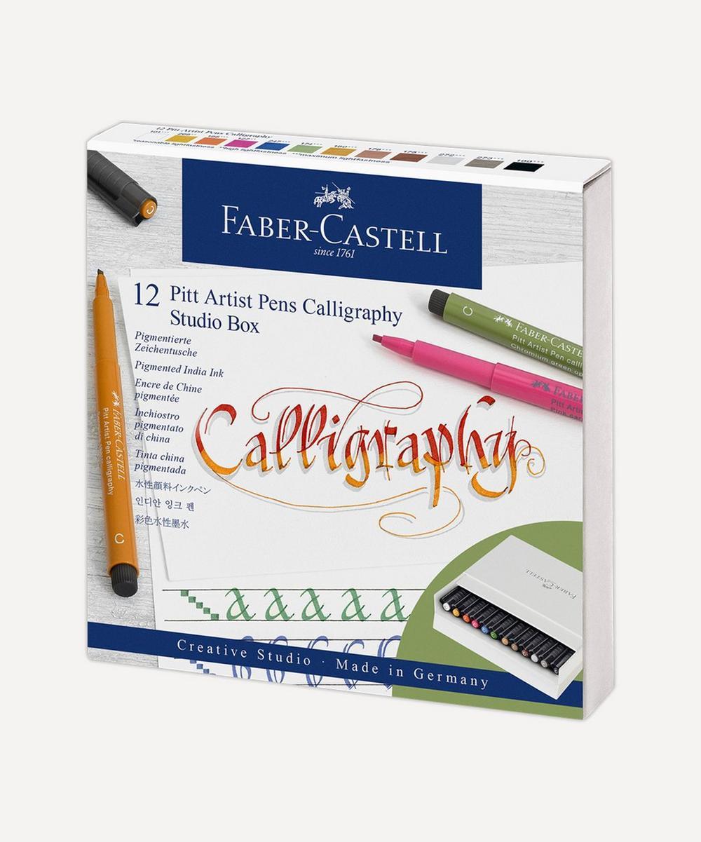 Faber-Castell - Pitt Artist Calligraphy Pens Set of 12