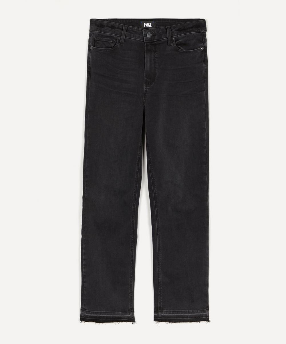 Paige - Cindy High-Rise Straight Jeans