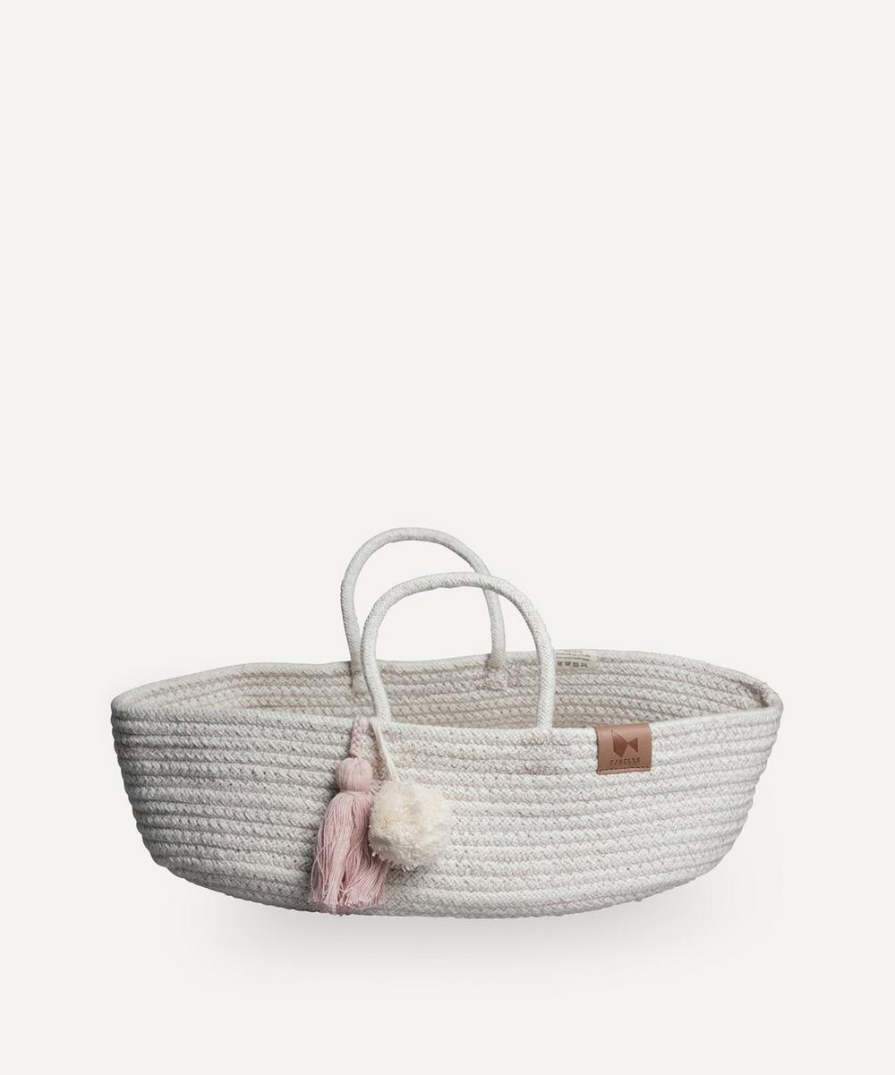 Fabelab - Organic Cotton Rope Doll Basket