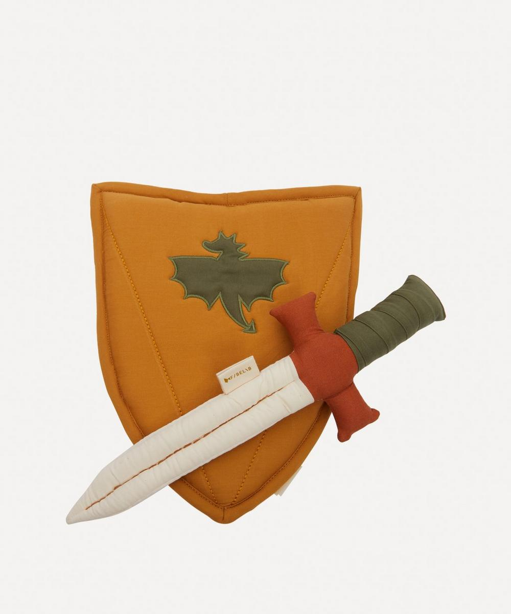 Fabelab - Organic Cotton Shield and Sword Set