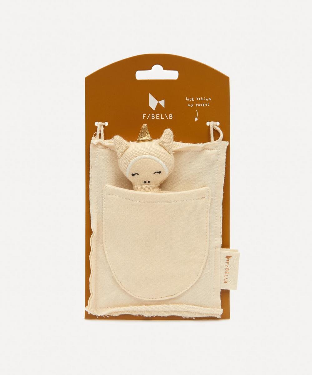 Fabelab - Organic Cotton Unicorn Pocket Friend