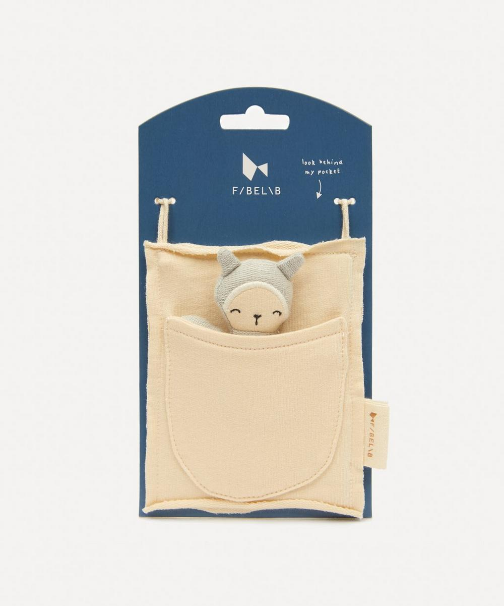 Fabelab - Organic Cotton Bunny Pocket Friend