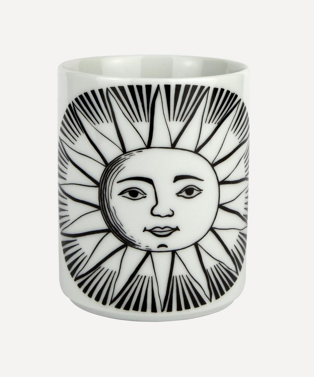 Fornasetti - Sol Ceramic Pencil Pot