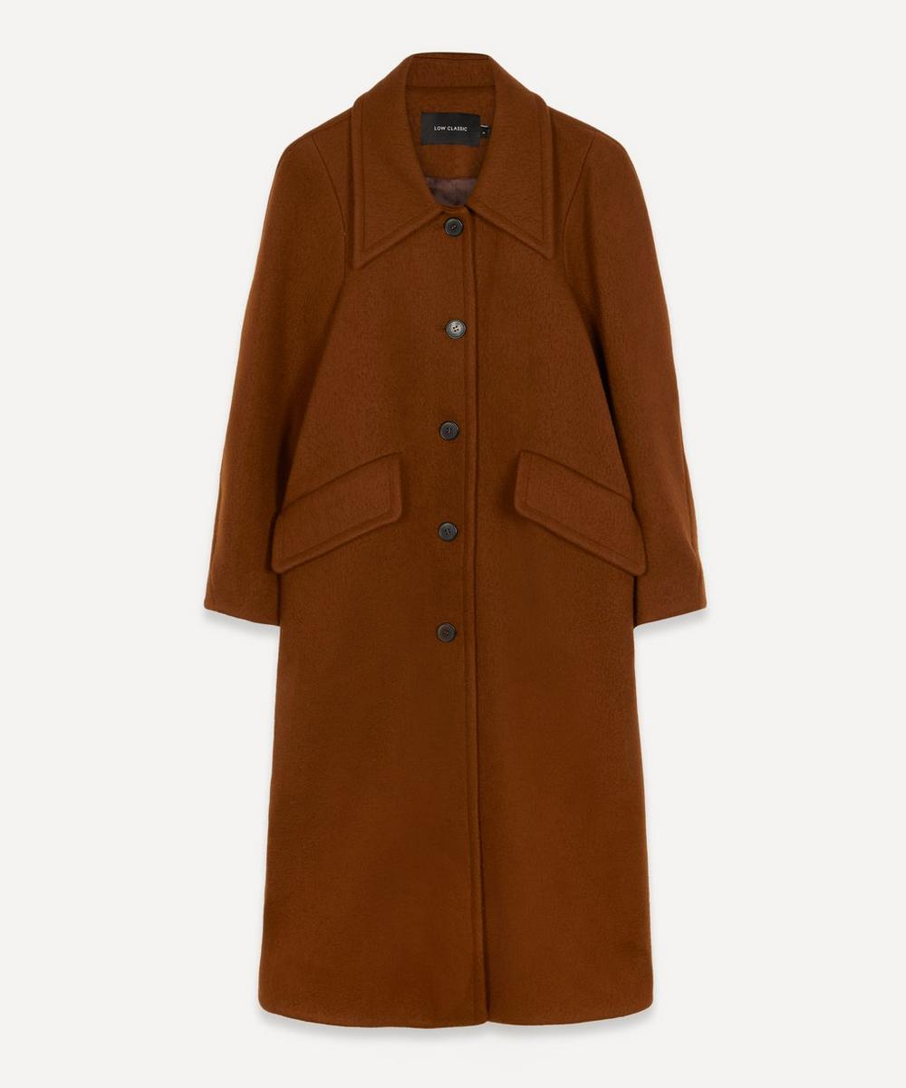 LOW CLASSIC - Oversized Wool Coat