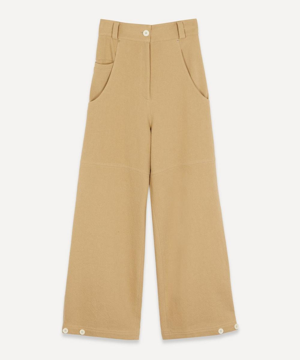 LOW CLASSIC - Wide-Leg Tailored Trousers