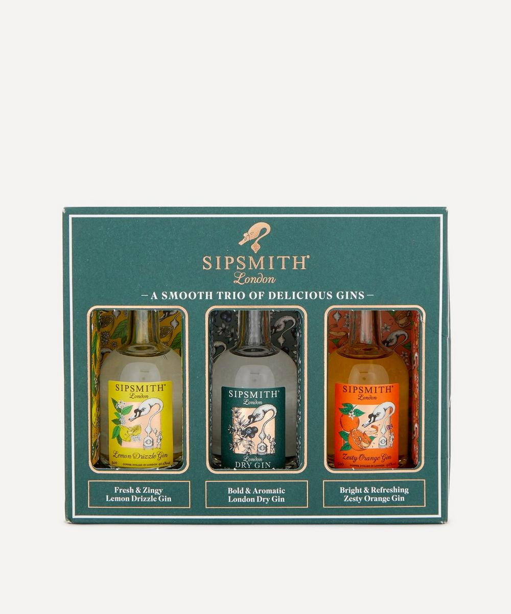 Sipsmith - Mini Gin Trio Gift Set 50ml image number 0