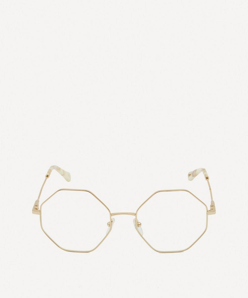 Chloé - Palma Octagonal Metal Optical Glasses