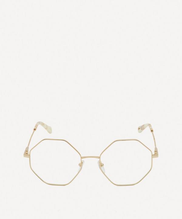 Chloé - Palma Octagonal Metal Optical Glasses