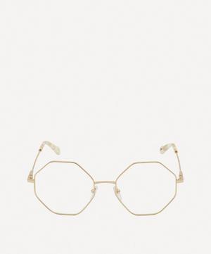 Palma Octagonal Metal Optical Glasses