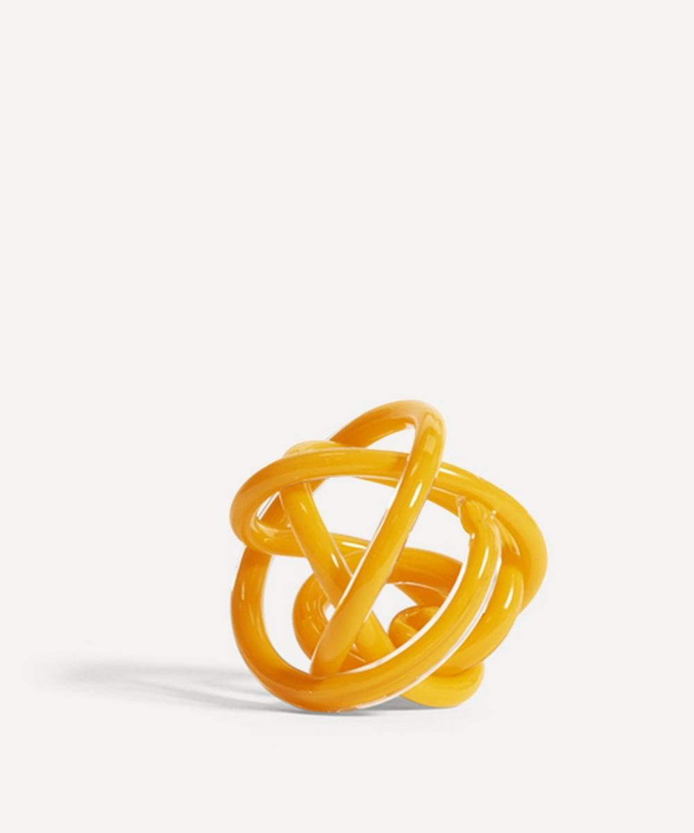Hay - Small Knot No.2 Glass Ornament