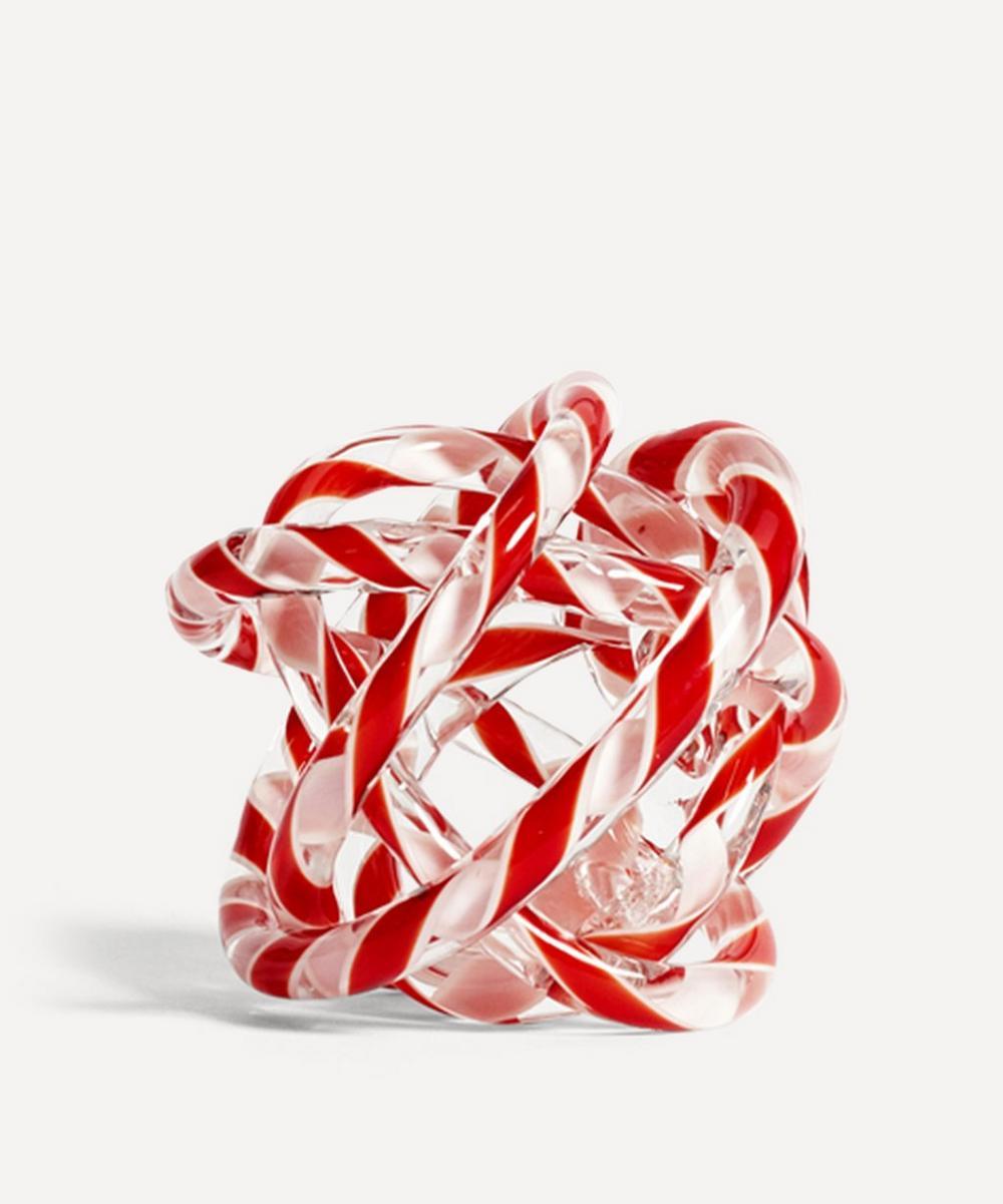 Hay - Medium Knot No.2 Glass Ornament
