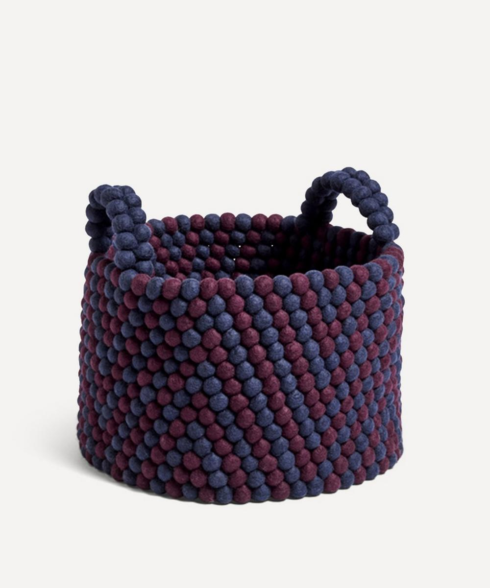 Hay - Bead Chevron Basket