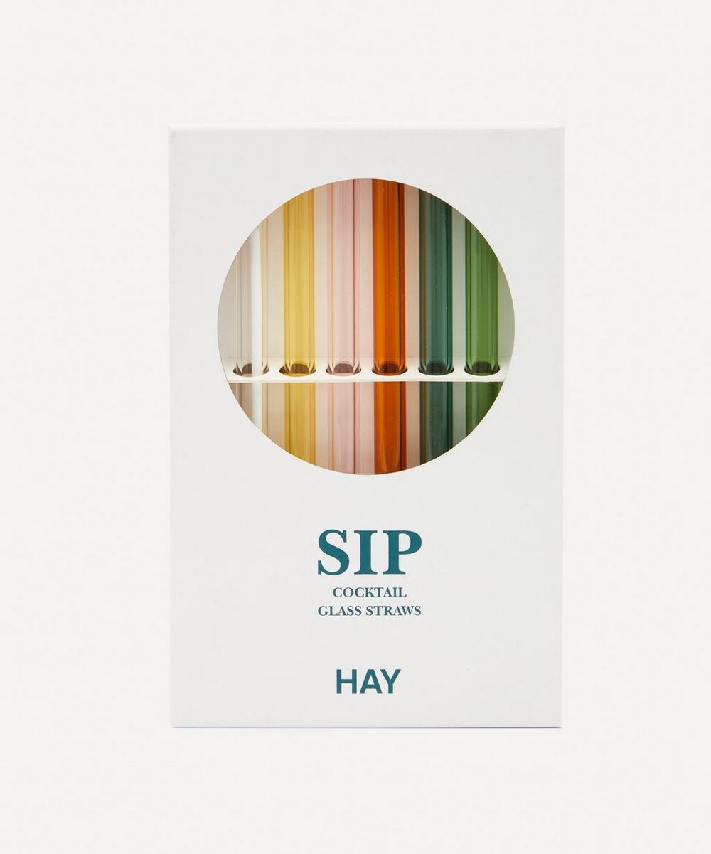 Hay - Sip Cockail Straws Set of Six