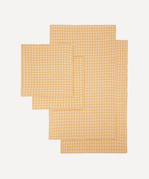 Twist Dish Cloths and Tea Towels Set of 4
