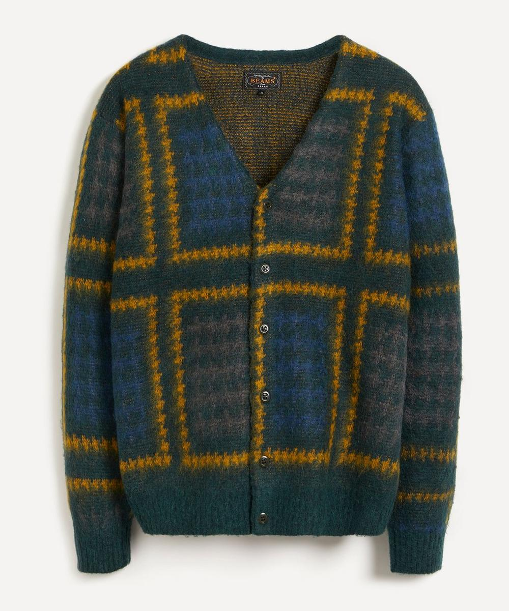 Beams Plus - Double Jacquard-Knit Cardigan