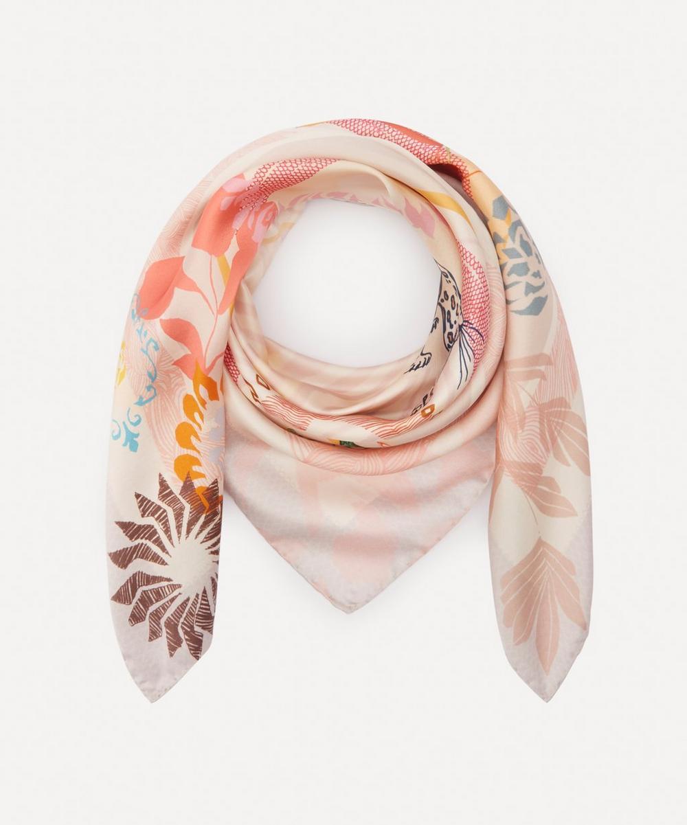 Heti's Colours - Tilda Square Silk Scarf