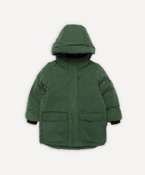 Tiger Eye Unisex Waterproof Puffer Jacket 1-8 Years