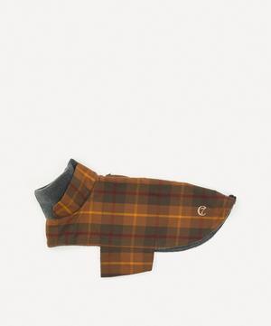 Medium Waxed Tartan Dog Coat