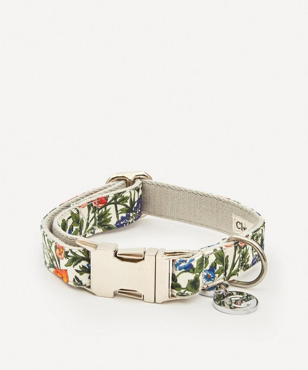 Cloud7 - Small Liberty Print Cornfield Dog Collar