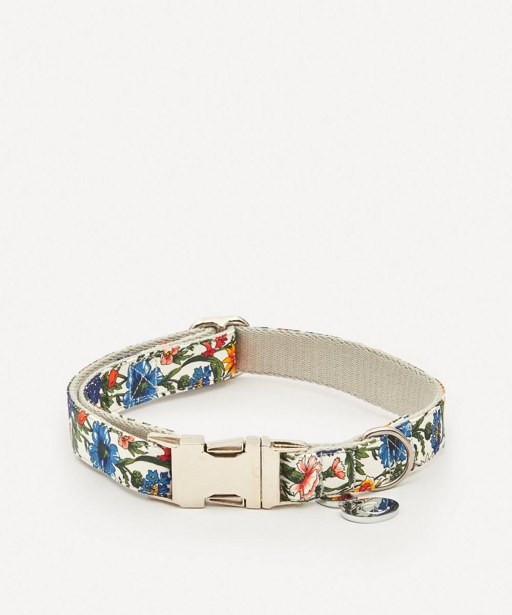 Cloud7 - Medium Liberty Print Cornfield Dog Collar