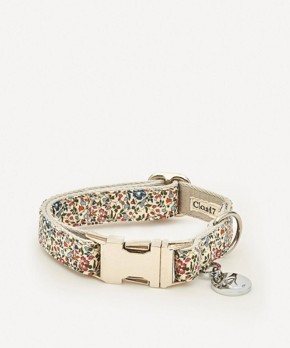 Cloud7 - Small Mille Fleurs Liberty Print Dog Collar