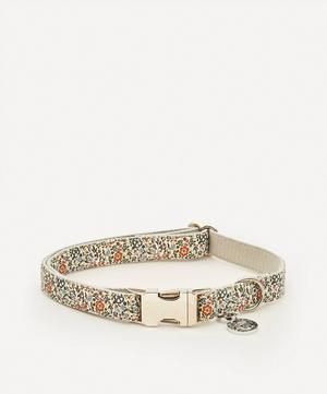 Large Mille Fleurs Liberty Print Dog Collar