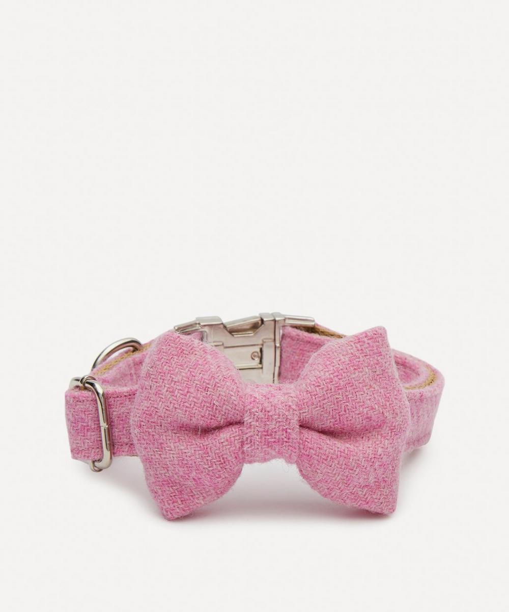 Ollie & Co - Small Harris Tweed Bow Tie Collar