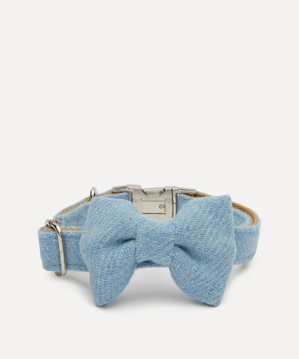 Ollie & Co - Medium Harris Tweed Bow Tie Collar